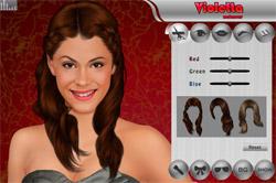 Violetta-makeup