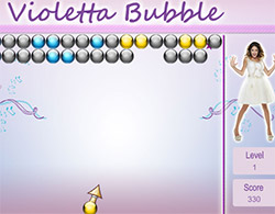 Violetta spara bolle