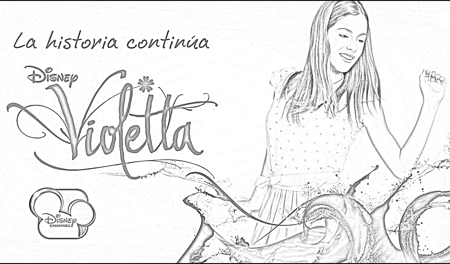 Violetta Game Coloring Pages